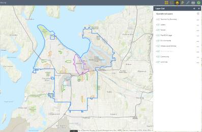 Map Of Tacoma Dart Map — Tacoma Permits